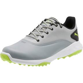 Thumbnail 1 of GRIP FUSION Men's Golf Shoes, Quarry-Acid Lime-Black, medium