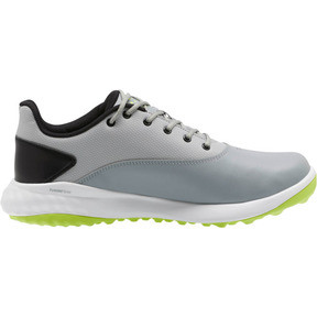 Thumbnail 4 of GRIP FUSION Men's Golf Shoes, Quarry-Acid Lime-Black, medium