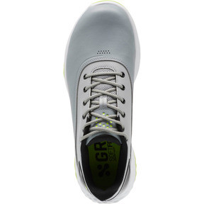 Thumbnail 5 of GRIP FUSION Men's Golf Shoes, Quarry-Acid Lime-Black, medium