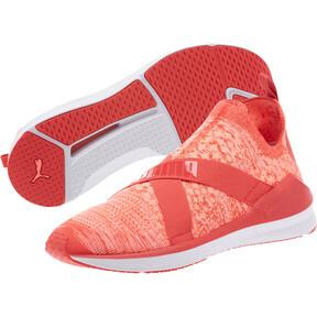 Thumbnail 2 of Fierce evoKNIT Women's Training Shoes, Poppy Red-Puma White, medium