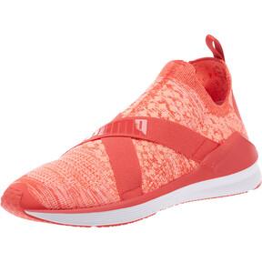 Thumbnail 1 of Fierce evoKNIT Women's Training Shoes, Poppy Red-Puma White, medium