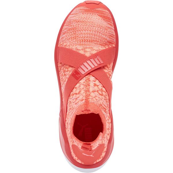 Fierce evoKNIT Women's Training Shoes, Poppy Red-Puma White, large