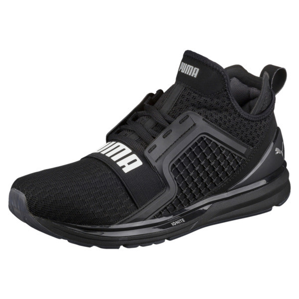 IGNITE Limitless Men's Running Shoes, Puma Black, large