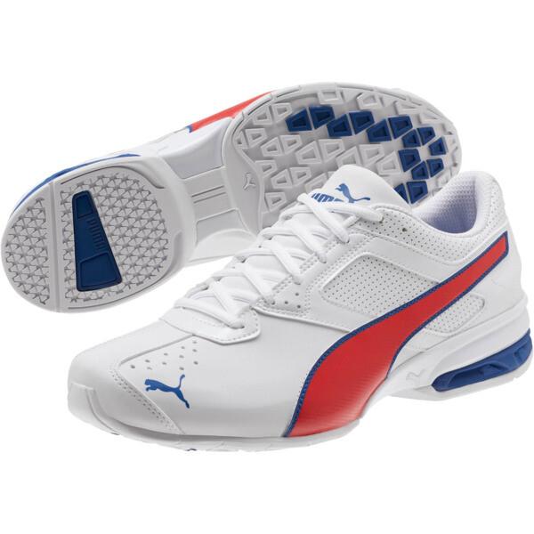 Zapatos deportivos Tazon 6 FM para hombre, P White-Glaxy Blue-H Risk Rd, grande