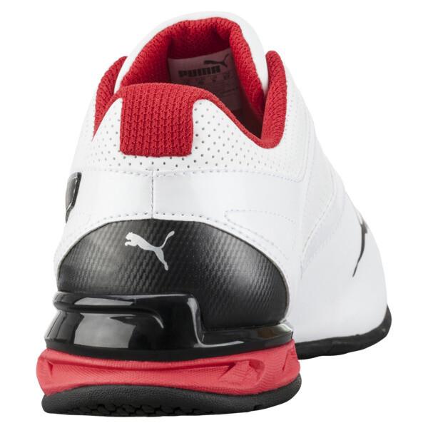 Tazon 6 FM Wide Men's Sneakers, White-Black-puma silver, large