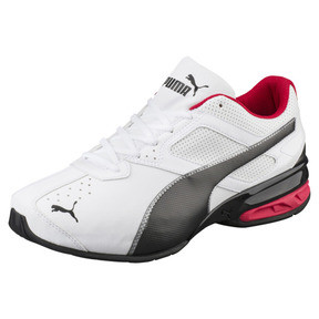 Thumbnail 1 of Tazon 6 FM Wide Men's Sneakers, White-Black-puma silver, medium