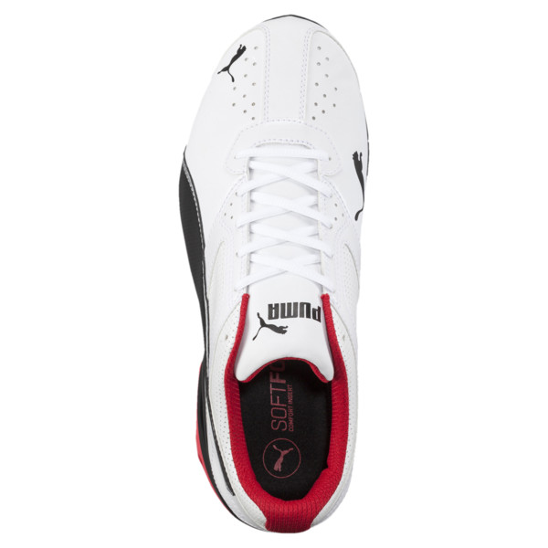 Tazon 6 FM Wide Men's Sneakers, White-Black-puma silver, large