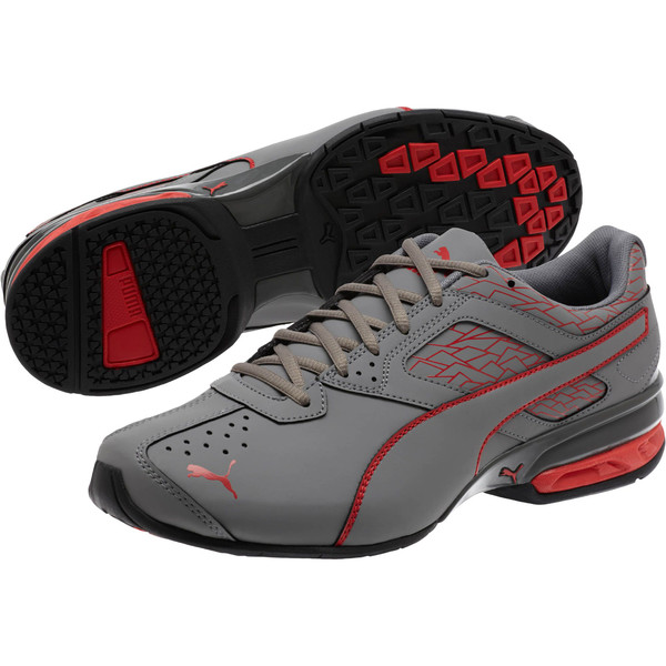 Zapatos deportivos Tazon 6 Fracture FM para hombre, QUIET SHADE-High Risk Red, grande