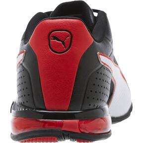 Thumbnail 4 of CELL Surin 2 FM Men's Running Shoes, Black-White-Ribbon Red, medium