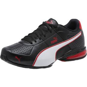 Thumbnail 1 of CELL Surin 2 FM Men's Running Shoes, Black-White-Ribbon Red, medium