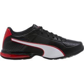 Thumbnail 3 of CELL Surin 2 FM Men's Running Shoes, Black-White-Ribbon Red, medium