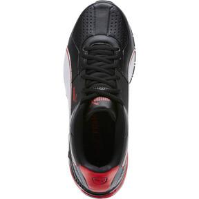 Thumbnail 5 of CELL Surin 2 FM Men's Running Shoes, Black-White-Ribbon Red, medium