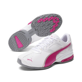 Thumbnail 2 of Tazon 6 FM Women's Sneakers, White-fuchsia purple-silver, medium