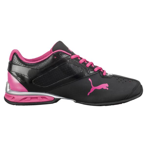 Tazon 6 FM Women's Sneakers, Black-silver-beetroot purple, large