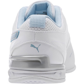 Thumbnail 4 of Tazon 6 Wide Women's Sneakers, White-CERULEAN-Silver, medium