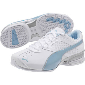 Thumbnail 2 of Tazon 6 Wide Women's Sneakers, White-CERULEAN-Silver, medium