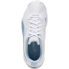 Thumbnail 5 of Tazon 6 Wide Women's Sneakers, White-CERULEAN-Silver, medium