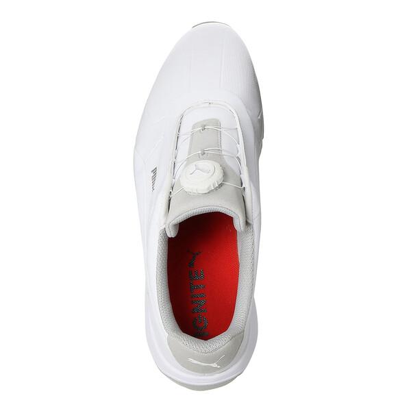 IGNITE Drive DISC Men's Golf Shoes, White-White, large