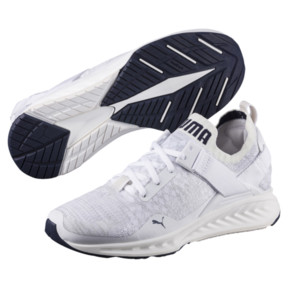 Thumbnail 2 of IGNITE evoKNIT Lo Women's Training Shoes, White-VaporousGray-Peacoat, medium