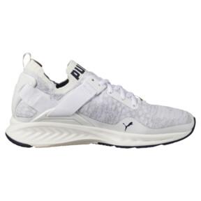 Thumbnail 3 of IGNITE evoKNIT Lo Women's Training Shoes, White-VaporousGray-Peacoat, medium