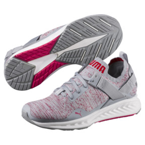 Thumbnail 2 of IGNITE evoKNIT Lo Women's Training Shoes, Quarry-SPARKLINGCOSMO-White, medium