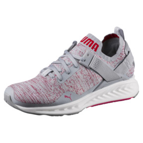 Thumbnail 1 of IGNITE evoKNIT Lo Women's Training Shoes, Quarry-SPARKLINGCOSMO-White, medium