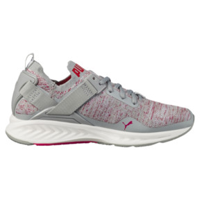 Thumbnail 3 of IGNITE evoKNIT Lo Women's Training Shoes, Quarry-SPARKLINGCOSMO-White, medium