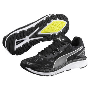 Thumbnail 2 of Speed 1000 IGNITE Men's Running Shoes, Black-QUIET SHADE-Silver, medium
