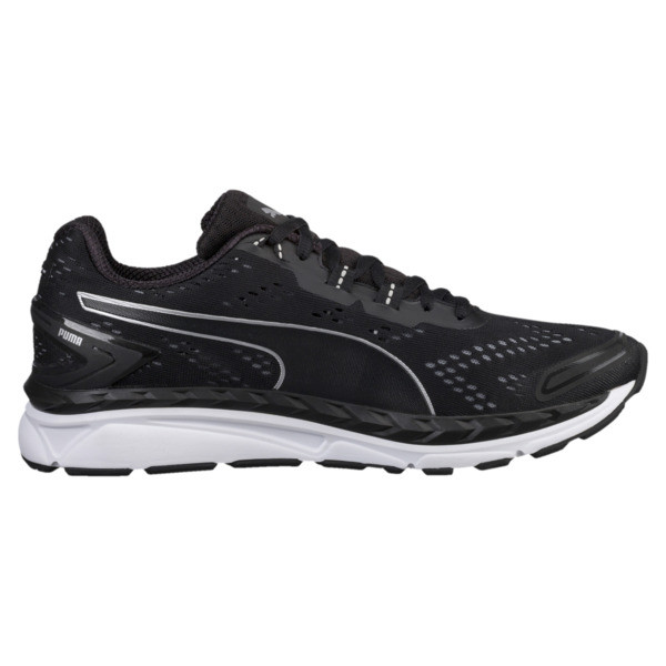 Speed 1000 IGNITE Men's Running Shoes, Black-QUIET SHADE-Silver, large