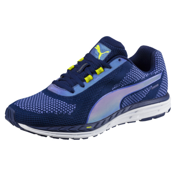 d8aad1e1ac Speed 500 IGNITE NightCat Women's Running Shoes, Blue Depths-Nrgy Yellow,  large-