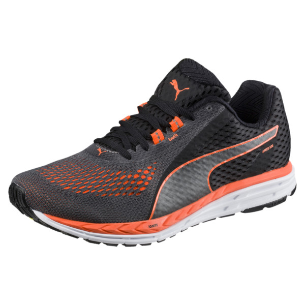 8d98979b04 Speed 500 IGNITE 2 Men's Running Shoes, Puma Black-Shocking Orange, large