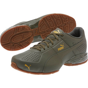 Thumbnail 2 of Cell Surin 2 Premium Men's Running Shoes, Olive Night-Gold, medium