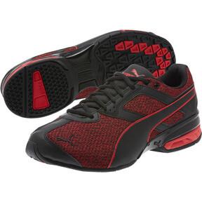 Thumbnail 2 of Tazon 6 Knit Men's Sneakers, Puma Black-Toreador, medium