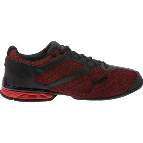 Thumbnail 3 of Tazon 6 Knit Men's Sneakers, Puma Black-Toreador, medium
