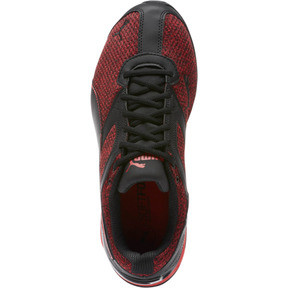 Thumbnail 5 of Tazon 6 Knit Men's Sneakers, Puma Black-Toreador, medium