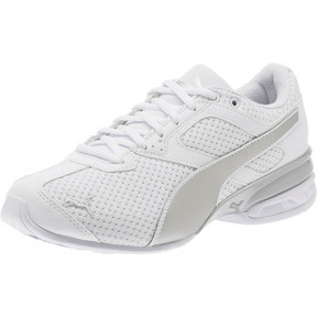 Thumbnail 1 of Tazon 6 Knit Women's Sneakers, Puma White-Puma Silver, medium
