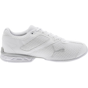 Thumbnail 3 of Tazon 6 Knit Women's Sneakers, Puma White-Puma Silver, medium