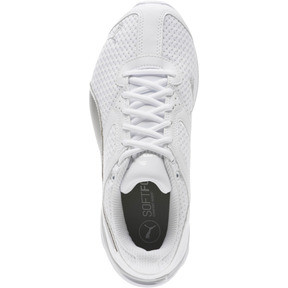 Thumbnail 5 of Tazon 6 Knit Women's Sneakers, Puma White-Puma Silver, medium