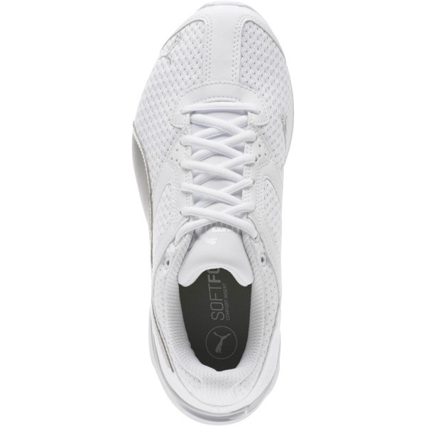 Tazon 6 Knit Women's Sneakers, Puma White-Puma Silver, large