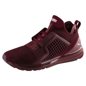 Thumbnail 1 of IGNITE Limitless Knit Men's Trainers, Tibetan Red-Puma Silver, medium