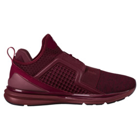 Thumbnail 3 of IGNITE Limitless Knit Men's Trainers, Tibetan Red-Puma Silver, medium