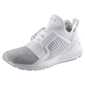 Thumbnail 1 of Basket IGNITE Limitless Knit pour homme, Puma White-Puma Silver, medium