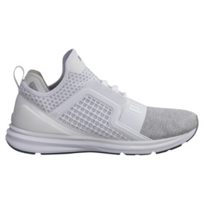 Thumbnail 3 of Basket IGNITE Limitless Knit pour homme, Puma White-Puma Silver, medium