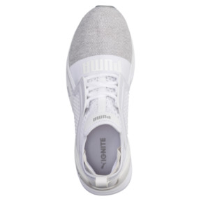 Thumbnail 5 of Basket IGNITE Limitless Knit pour homme, Puma White-Puma Silver, medium