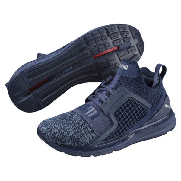 IGNITE Limitless Knit Men's Trainers, Blue Indigo-Infinity, large