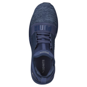 Thumbnail 5 of IGNITE Limitless Knit Men's Trainers, Blue Indigo-Infinity, medium