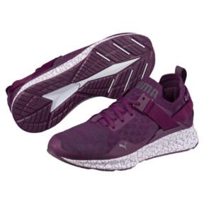 Thumbnail 2 of IGNITE evoKNIT Lo Hypernature Women's Training Shoes, Dark Purple-Periscope, medium