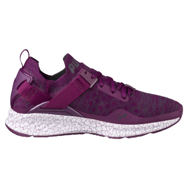 IGNITE evoKNIT Lo Hypernature Women's Training Shoes, Dark Purple-Periscope, large