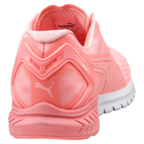 Thumbnail 4 of IGNITE Dual Mesh Women's Running Shoes, Nrgy Peach-Puma White, medium
