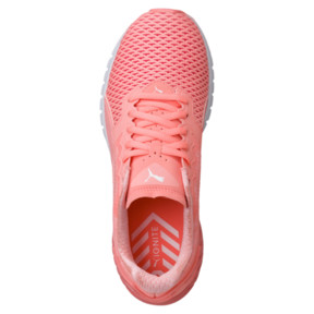 Thumbnail 5 of IGNITE Dual Mesh Women's Running Shoes, Nrgy Peach-Puma White, medium